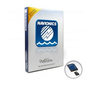 Cartography 33P+ Navionics Platinum+ (MSD)