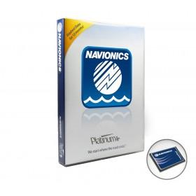 Cartography 33P+ Navionics Platinum+ (CF)